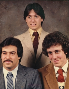 The 1019 Harrison Street Family Portrait - Mike Solondz, Dave Grossman and Ira Berkowitz.