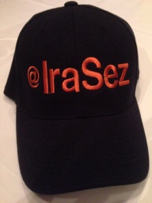 The first (and not quite official) @IraSez hat.